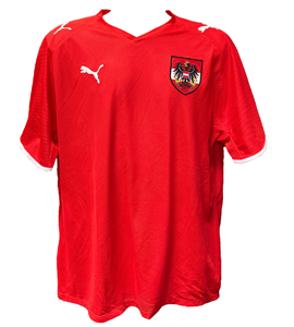 Austria 2008/09 Home Euro 2008 Shirt