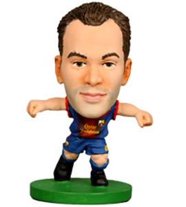 Barcelona Soccer Starz Andres Iniesta (2013)