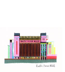 Baltic Flour Mill (Greetings Card)