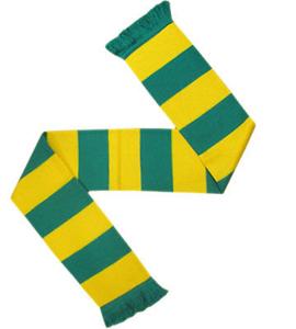 Bar Scarf Green & Yellow