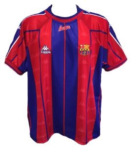 Barcelona 1997-98 Home Shirt