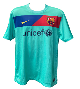 Barcelona 2010/11 Away Champions League Winners Shirt