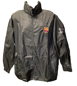 Barcelona Champions League Rain Jacket