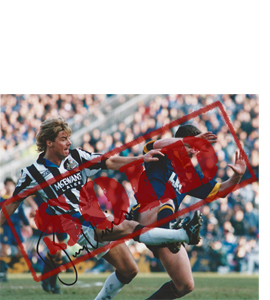 Barry Venison Newcastle Photo (Signed)