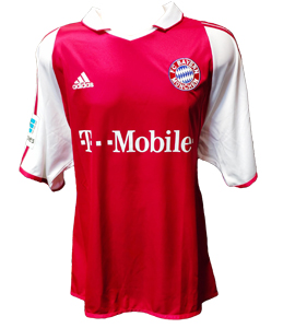 Bayern Munich 2003/04 Home Shirt