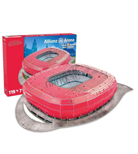 Bayern Munich Allianz Arena Official 3D Stadium Puzzle