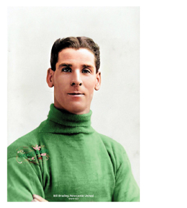 Bill Bradley Newcastle United Legend 1919-1927 (Print)