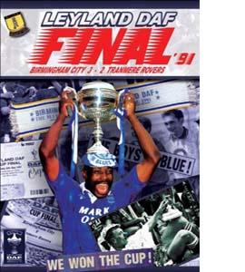 Birmingham City 3 Tranmere Rovers 2 - Leyland Daf Trophy Final 1