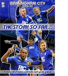 Birmingham City The Story So Far 2008/09. (DVD)