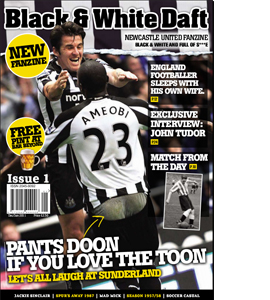 Black & White Daft Issue 1 (Fanzine)