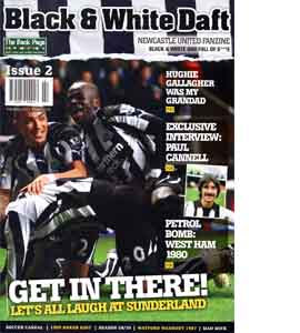 Black & White Daft Issue 2 (Fanzine)