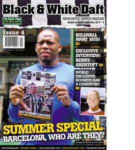 Black & White Daft Issue 4 (Fanzine)
