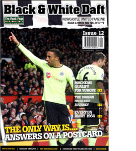 Black & White Daft Issue 12 (Fanzine)