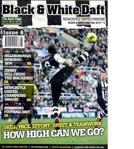 Black & White Daft Issue 8 (Fanzine)