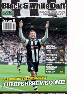 Black & White Daft Issue 9 (Fanzine)