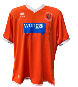 Blackpool 2013/15 Home Shirt