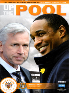 Blackpool v Newcastle United Friendly 13/14 (Programme)