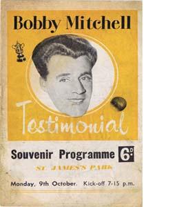Bobby Mitchell Newcastle United Testimonial (Programme)