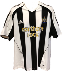 Bobby Robson Newcastle United 05/06 Home Shirt (Signed)