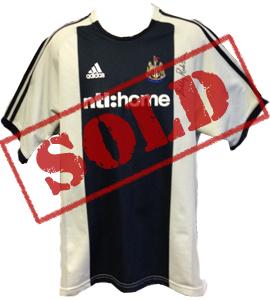 Bobby Robson Newcastle United 2002/03 Shirt (Signed)