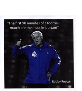 Bobby Robson (Greetings Card)
