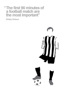 Bobby Robson Football Legend (Greeting Card)