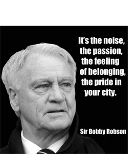Bobby Robson - The First 90 Minutes (Greetings Card)