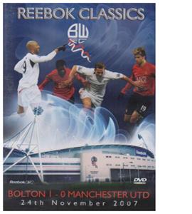 Bolton Wanderers v Manchester United (24th November 2007 (DVD)