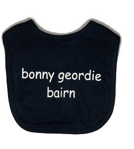 Bonny Geordie Bairn, Bib (Babywear)