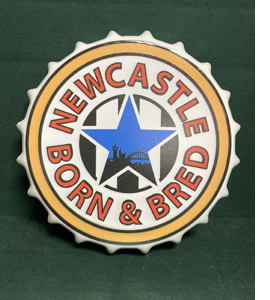 Newcastle Born & Bred (Large Metal Bottle Top)