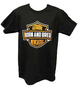 Harley Geordie Born & Bred Newcastle United (T-Shirt)
