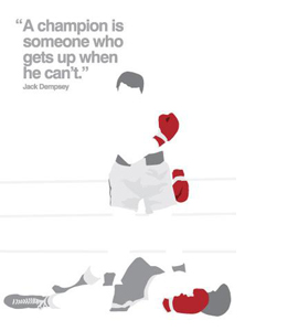 Boxing (Greetings Card)