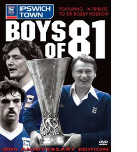 Boys of 81 - Ipswich Town (DVD)