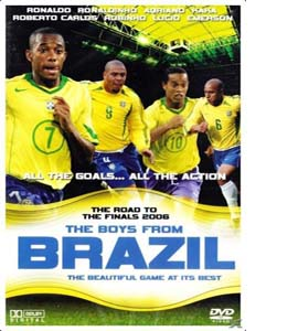 Brazil Review - Road to the 2006 World Cup Finals (DVD)