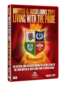 Britsh and Irish Lions 2009: Living With The Pride (DVD)