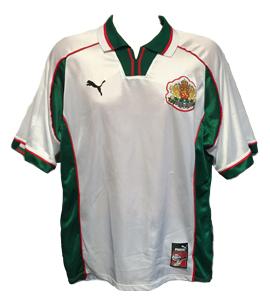 Bulgaria 1998-00 Home Shirt