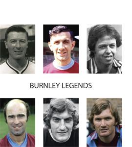 Burnley Lgends (Greetings Card)
