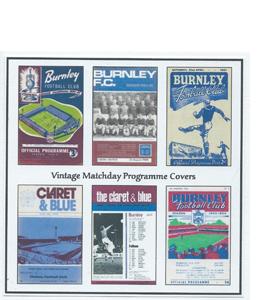 Burnley Vintage Programme (Greeting Card)