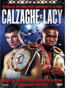 Calzaghe vs Lacy (DVD)