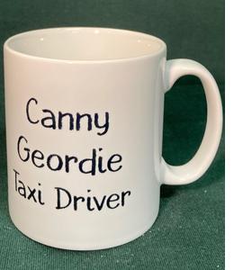 Canny Geordie Taxi Driver (Mug)