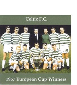 Celtic 1967 European Cup Winners (Ceramic Coaster)