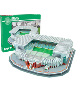 Celtic 3D Football Stadium Puzzle