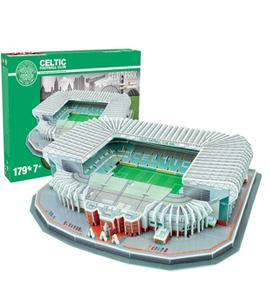 Celtic 3D Football Stadium Puzzle