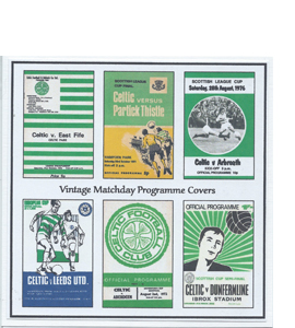 Celtic Vintage Programme (Greeting Card)