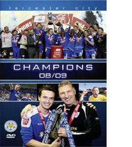 Champions-Leicester City Season Review 08/09 (DVD)