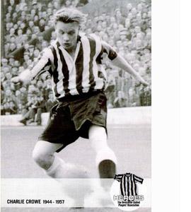 Charlie Crowe Newcastle United Heroes (Postcard)