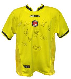 Charlton Athletic 2003/04 Away Shirt (Signed)