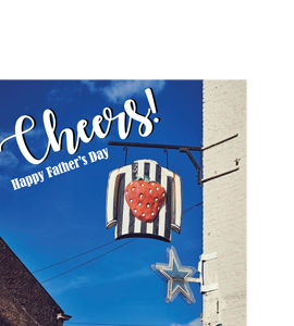 Cheers! Happy Father's Day (Greetings Card)