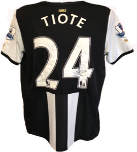Cheick Tiote Newcastle United Shirt 2011/12 (Match-Worn)