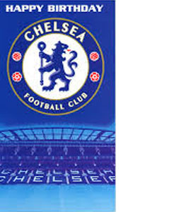 Chelsea Crest Birthday Card